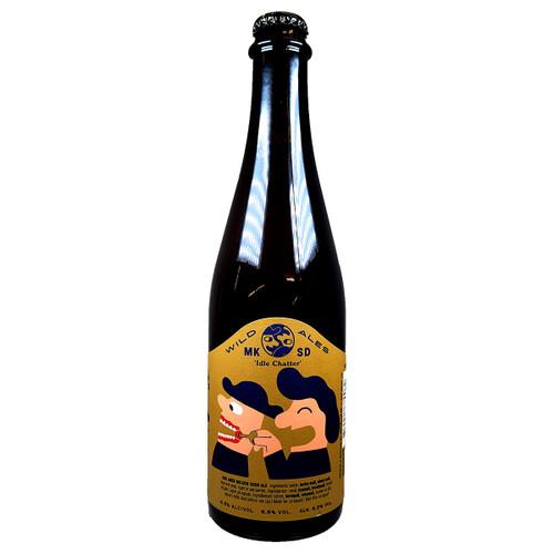 Mikkeller SD / Black Heron Project Idle Chatter Oak Aged Golden Sour Ale
