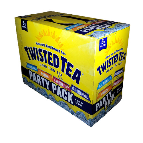 Twisted Tea Hard Iced Tea Party Pack 12-Pack Can