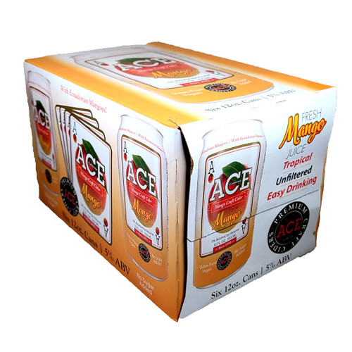 Ace Mango Craft Cider 6-Pack Can