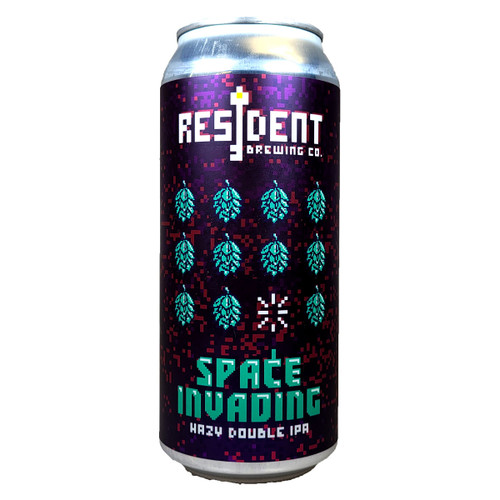 Resident Space Invading Hazy Double IPA Can