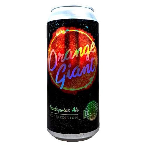 Ecliptic Orange Giant Barleywine Ale Can