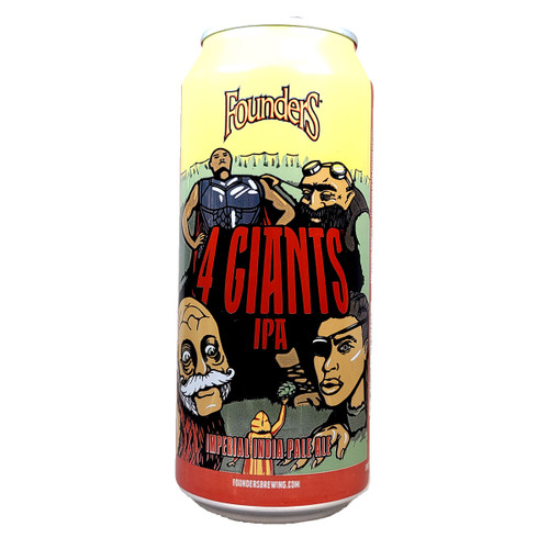 Founders 4 Giants Imperial IPA Can