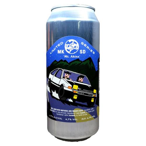 Mikkeller SD Mt. Akina Rice Lager Can