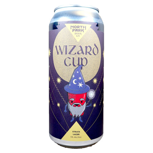 North Park Wizard Cup Strata Lager Can