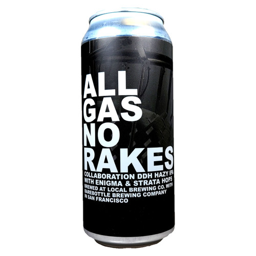 Local Brewing / Barebottle All Gas No Rakes DDH Hazy IPA Can