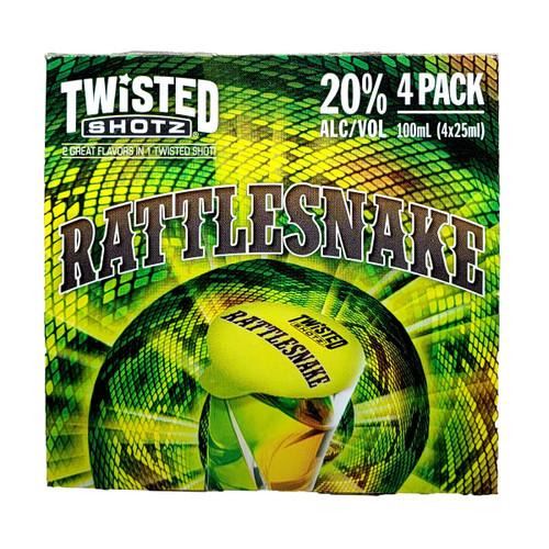 Twisted Shotz Rattlesnake 4-Pack