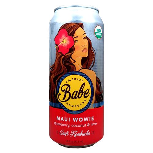 Babe Maui Wowie Non-Alcoholic Kombucha Can