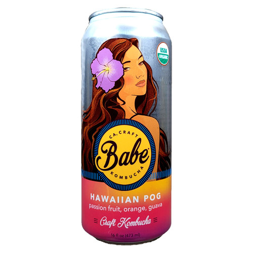Babe Hawaiian POG Non-Alcoholic Kombucha Can