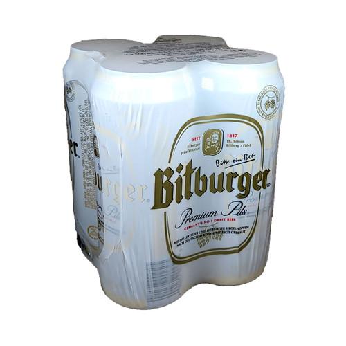 Bitburger Premium Pils 4-Pack Can