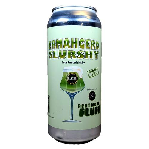 Local Craft Beer Ermahgerd Slurshy Rent Money Fluff Sour Fruited Slushy Can