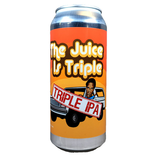 Local Craft Beer The Juice Is Triple Triple IPA Can