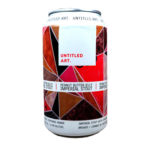 Untitled Art Peanut Butter Jelly Imperial Stout