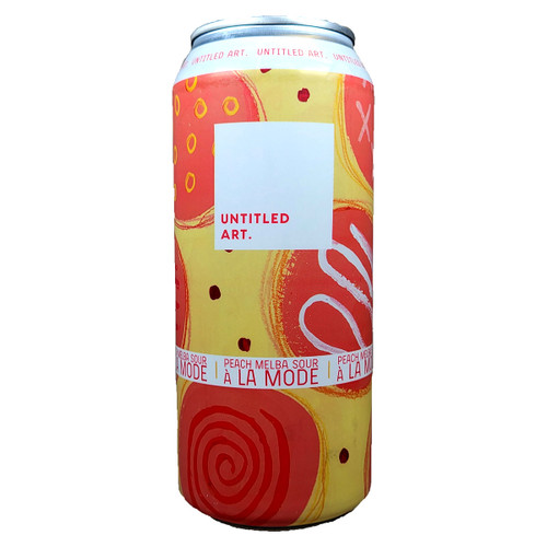 Untitled Art Peach Melba Sour A La Mode Berliner Weisse Can