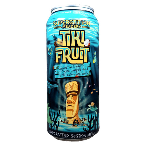 Superstition Tiki Fruit Carbonated Session Mead Can