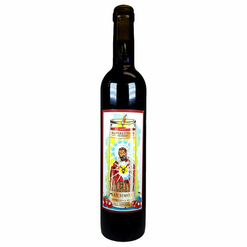 Superstition San Simon Cherry Apple Mead - Cherry Brandy Barrels