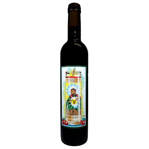 Superstition San Simon Cherry Apple Mead - Apple Brandy Barrels