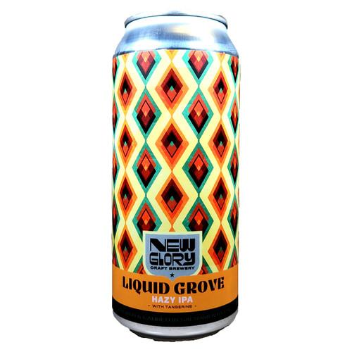 New Glory Liquid Grove Hazy IPA Can