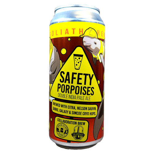 Toppling Goliath Safety Porpoises Double IPA Can
