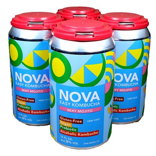 Nova Sexy Mojito Easy Kombucha 4-Pack Can