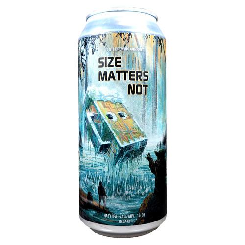 8 Bit Size Matters Not Hazy IPA Can