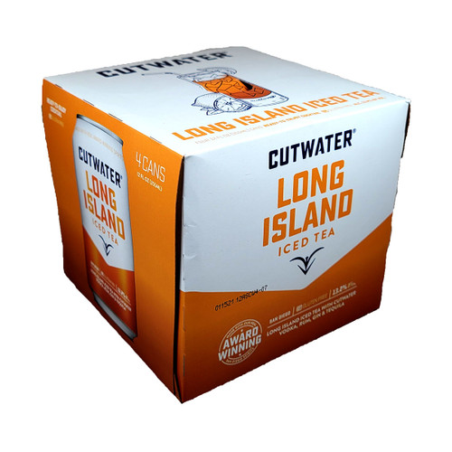 Cutwater Long Island Iced Tea Ready-To-Drink 4-Pack Can