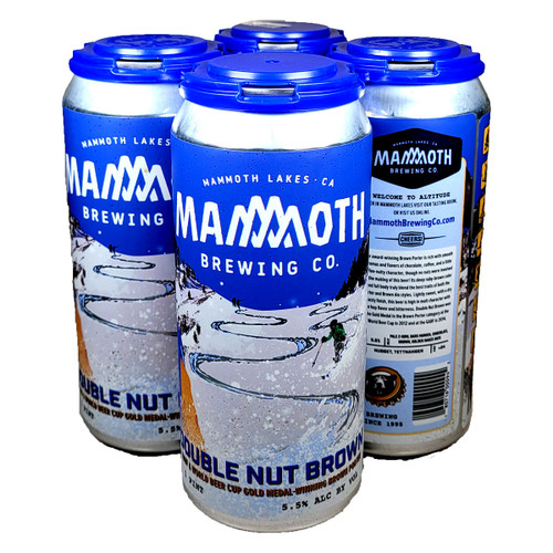 Mammoth Double Nut Brown Porter 4-Pack Can