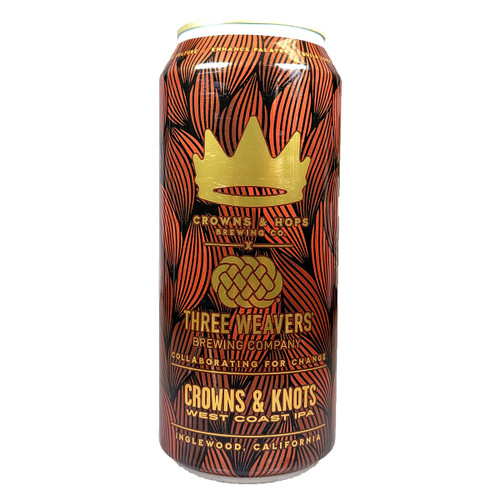 Crowns & Hops / Three Weavers Crowns & Knots West Coast IPA Can