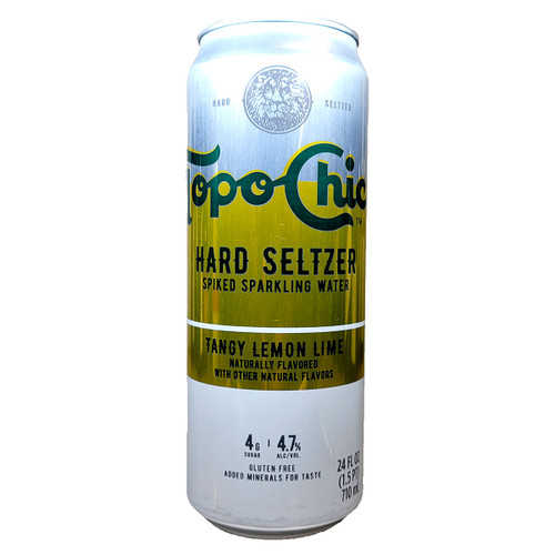 Topo Chico Tangy Lemon Lime Hard Seltzer 24oz Can