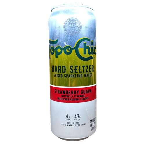Topo Chico Strawberry Guava Hard Seltzer 24oz Can