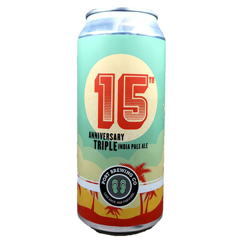 Port Brewing 15th Anniversary Triple IPA Can