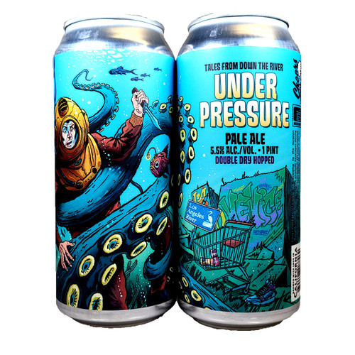 Paperback Under Pressure Pale Ale Can