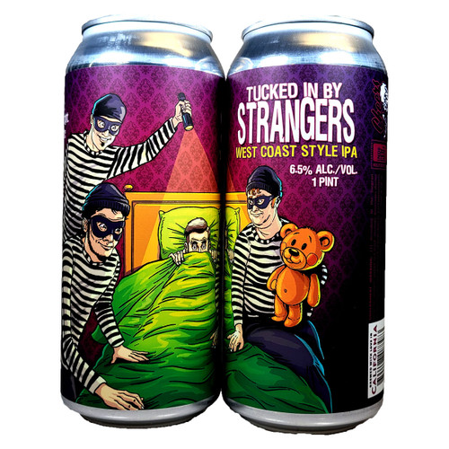 Paperback Tucked In By Strangers West Coast Style IPA Can