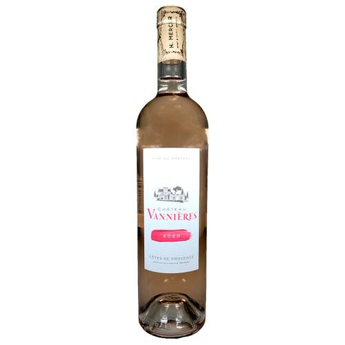 Chateau Vannieres 2020 Cotes de Provence Rose