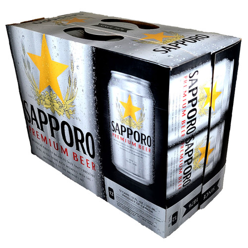 Sapporo Premium Beer 12-Pack Can