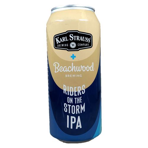 Karl Strauss / Beachwood Riders On The Storm IPA Can