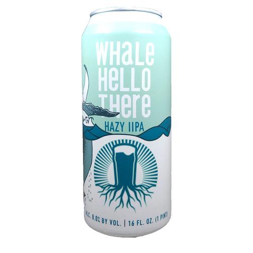 Burgeon Whale Hello There Hazy IIPA Can