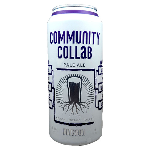 Burgeon Community Collab Pale Ale Can