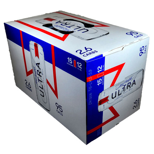 Michelob Ultra Superior Light Beer 15-Pack Can