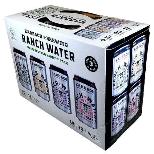 Karbach Ranch Water Hard Seltzer Variety 12-Pack Can