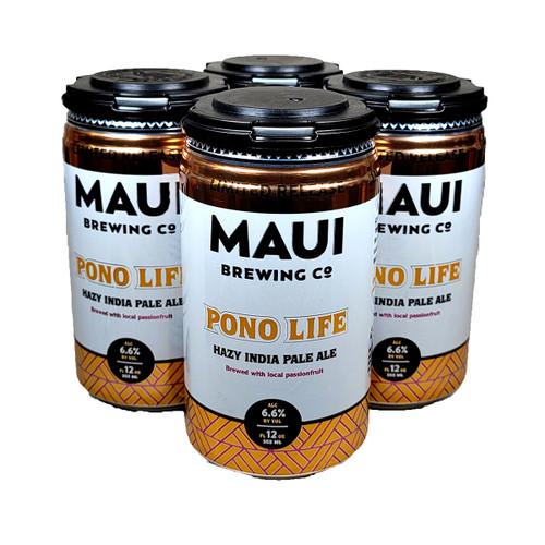 Maui Pono Life Hazy IPA 4-Pack Can