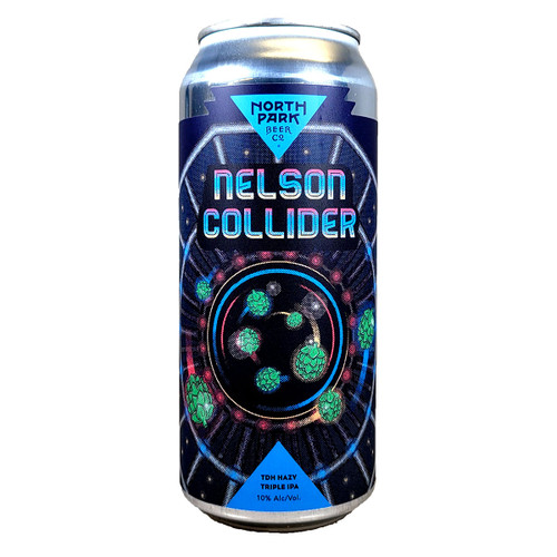 North Park Nelson Collider TDH Hazy Triple IPA Can