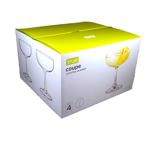 True Coupe Glass 4-Pack 7oz