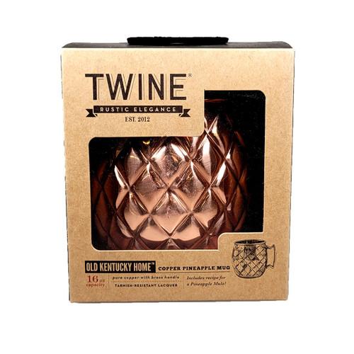 Copper Pineapple Mug By Twine