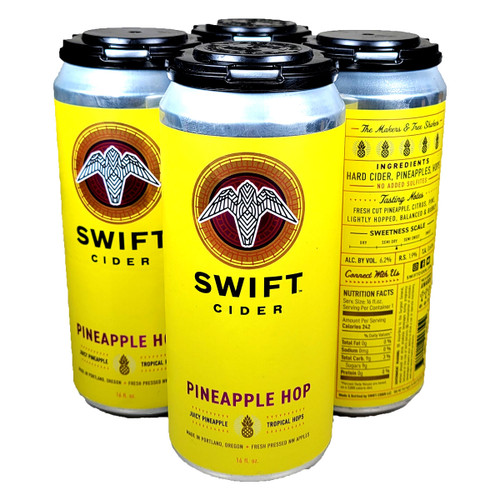 Swift Pineapple Hop Hard Cider 4-Pack Can