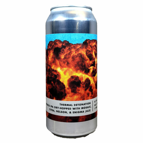 Bottle Logic Thermal Detonation Double IPA Can
