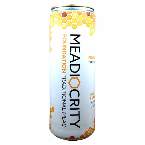 Meadiocrity Foundation Traditional Mead Can