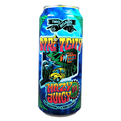 Two Roads Stratcity Hazy Juicy IPA Can