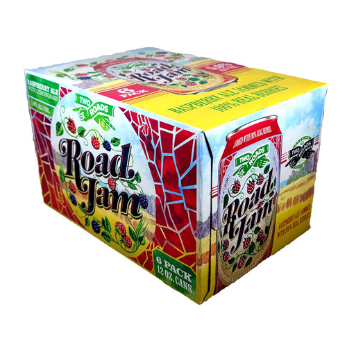 Two Roads Road Jame Raspberry Ale 6-Pack Can