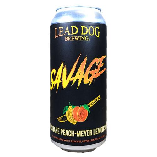 Lead Dog Savage Milkshake Peach-Meyer Lemon Sour Can