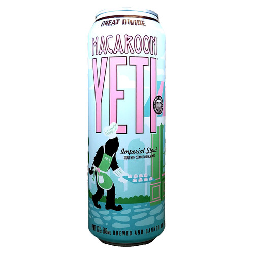 Great Divide Macaroon Yeti Imperial Stout Can